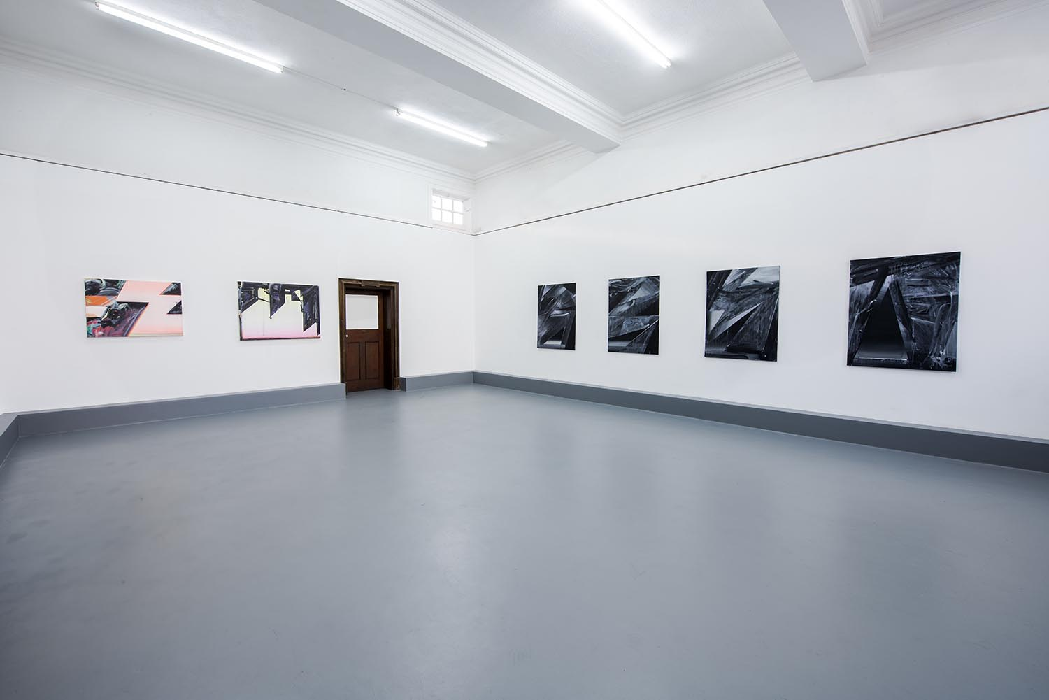 Phil Ashcroft, Cave Paintings, installation view, 2015. Photo: Tom Horak