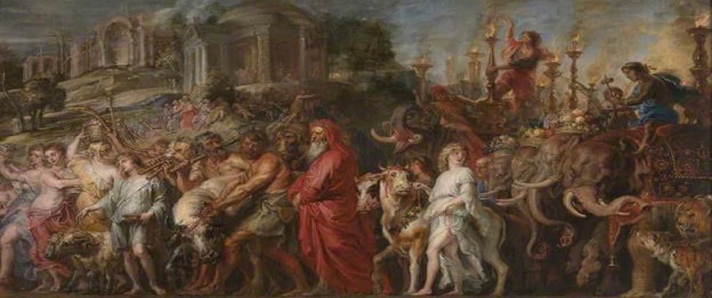 Peter Paul Rubens, A Roman Triumph (detail), about 1630. Image courtesy The National Gallery, London. All rights reserved.