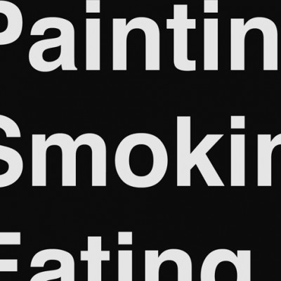 2014-04 Painting.Smoking.Eating